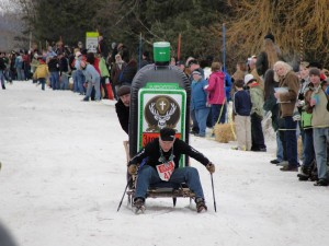 ALAN RUBY - BARSTOOL SKI RACES